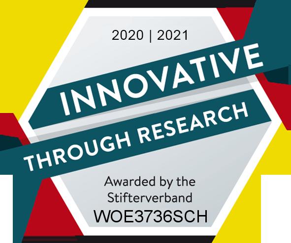 Gütesiegel Forschung und Entwicklung